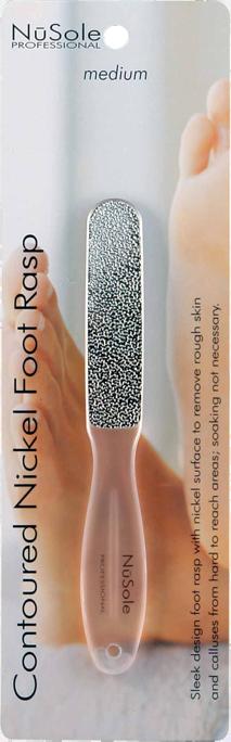 NuSole Nickel Foot Rasp-Medium