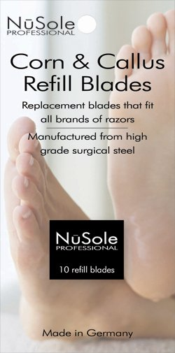 NuSole Razor Refills Fits For All Brands Of Razors